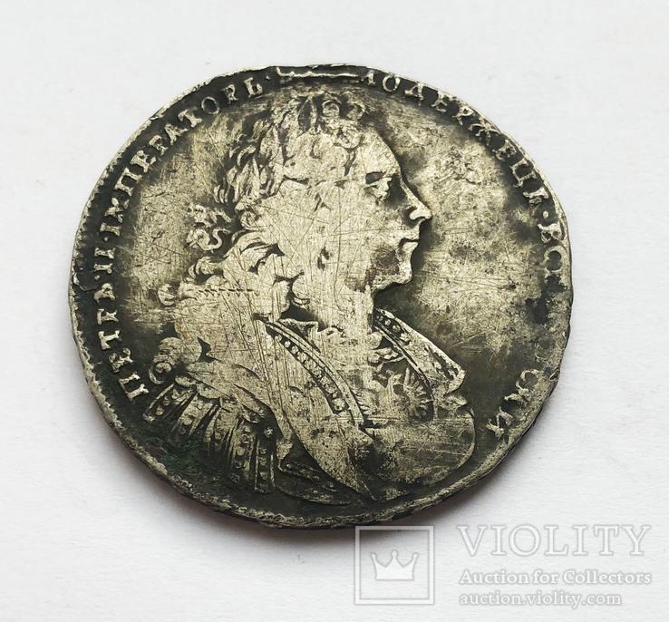 Рубль 1728 года., фото №3