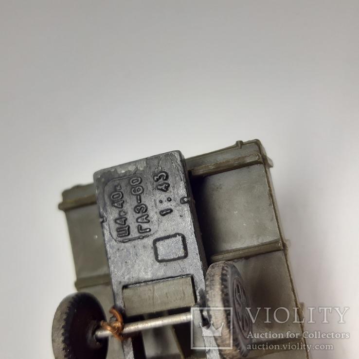 Автомобиль, Масштабная модель ГАЗ-60, СССР, фото №6