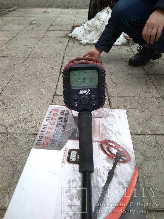 Металлодетектор Ground MX60, фото №4