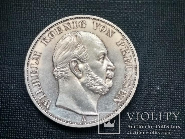 Талер 1871 года в честь победы над Францией., фото №3