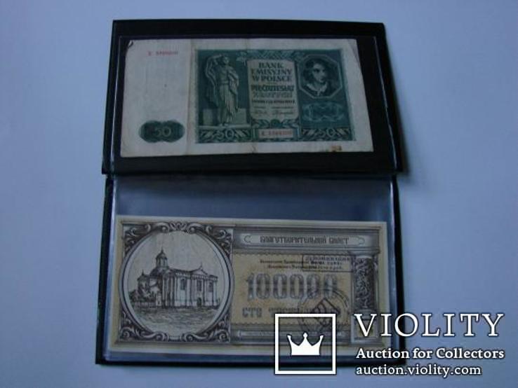 Альбом на банкноты XL MM-Schulz Польша, фото №4