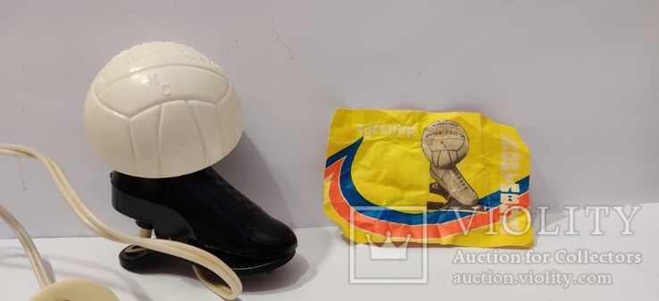 Сувенир лампа-светильник: Футбол бутса, фото №2