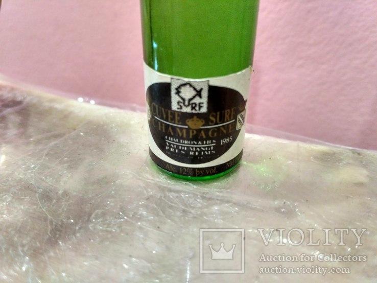 Мини (микро) бутылочка шампанское в ведерке 60-80 годы, фото №7