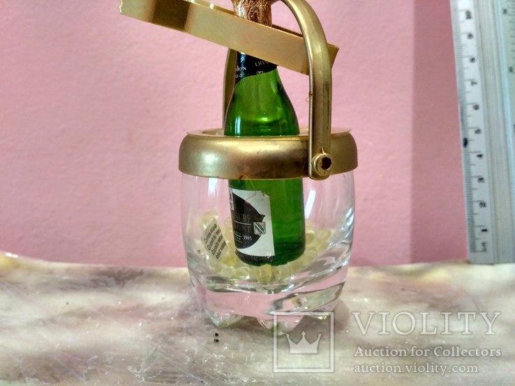 Мини (микро) бутылочка шампанское в ведерке 60-80 годы, фото №10