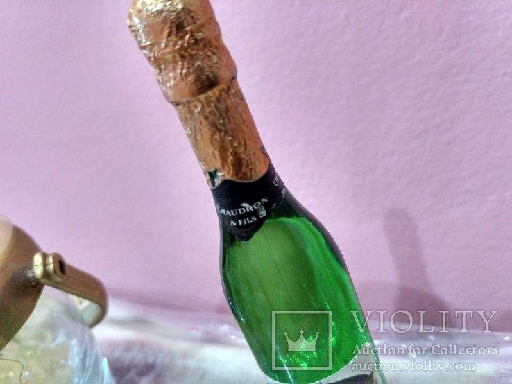 Мини (микро) бутылочка шампанское в ведерке 60-80 годы, фото №11