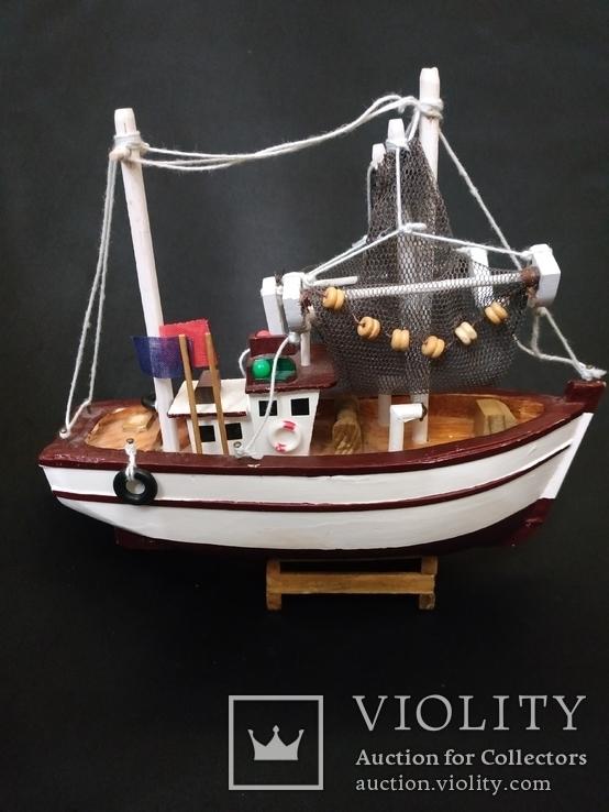Корабль дерево рыболов, фото №2