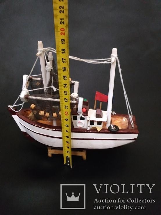 Корабль дерево рыболов, фото №6