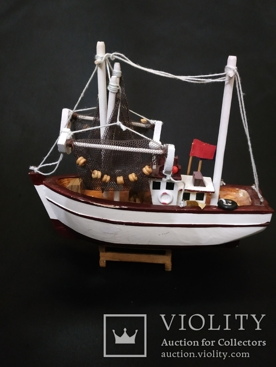 Корабль дерево рыболов, фото №7
