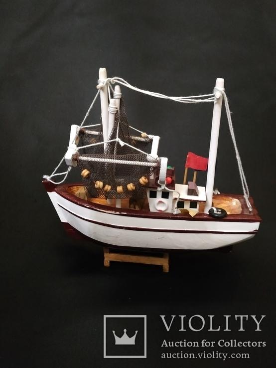 Корабль дерево рыболов, фото №8