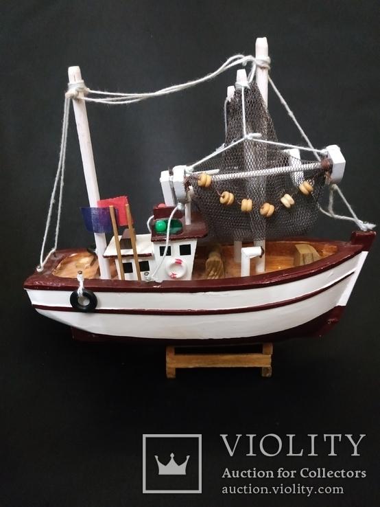 Корабль дерево рыболов, фото №13