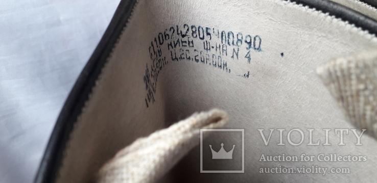Сапоги хромовые СССР (44р) Складское хранение, фото №11