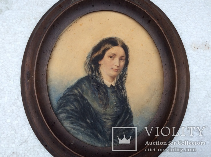 Портрет девушки.19 век