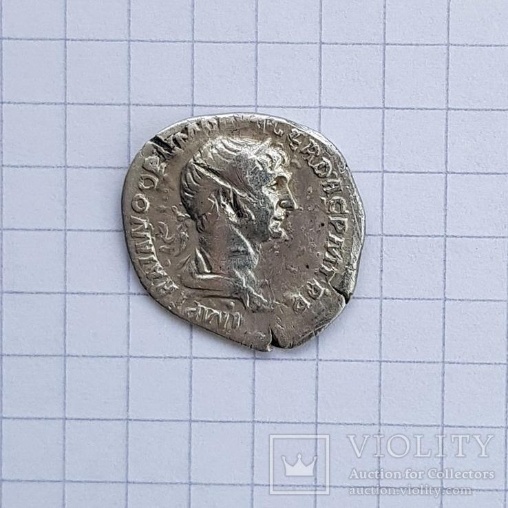 Денарий Траяна (98-117 гг н.э.), фото №2