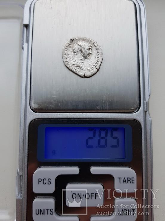 Денарий Траяна (98-117 гг н.э.), фото №4
