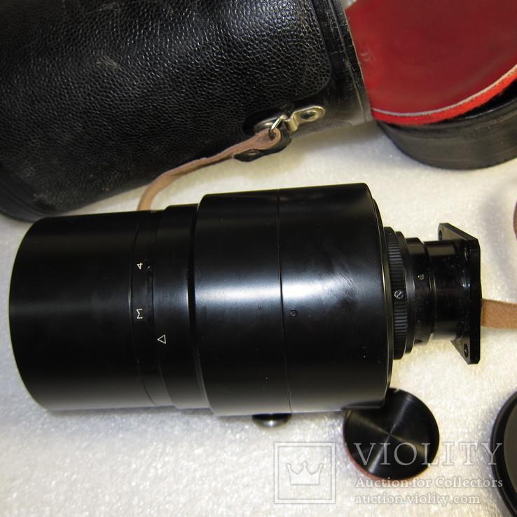 Объектив 3М-5А, 8-500,в родном кожаном футляре., фото №11