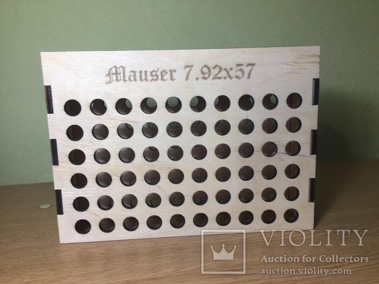 Підставка для гільз,патрон Маузер., фото №2