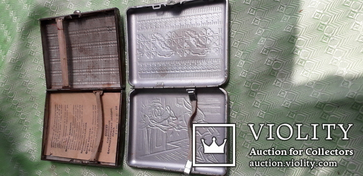 Два портсигара СССР, фото №4