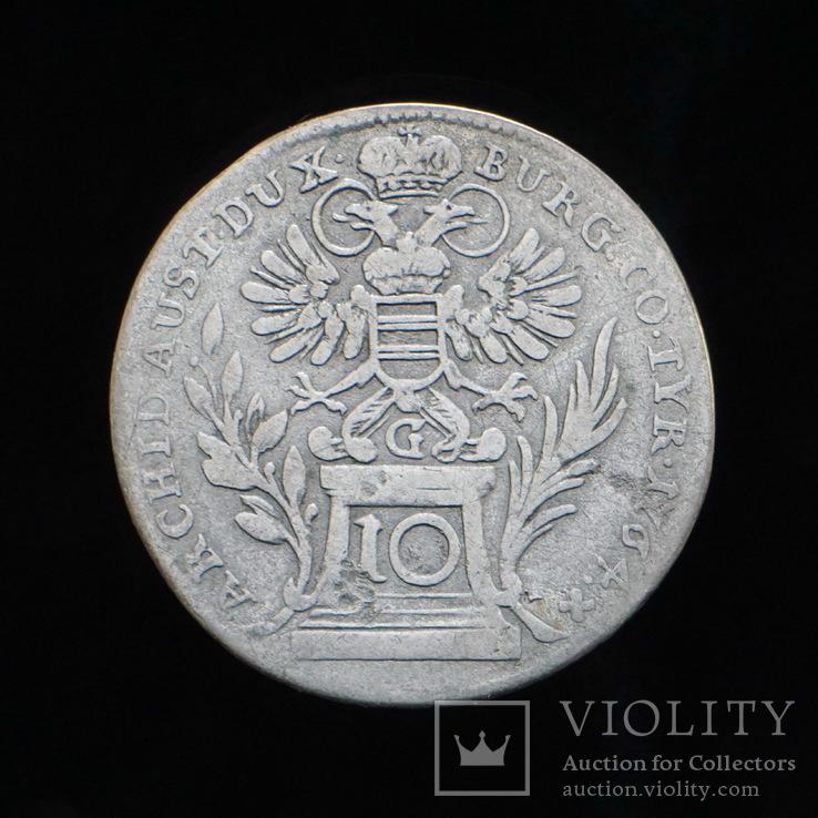 10 Крейцеров 1764, фото №2