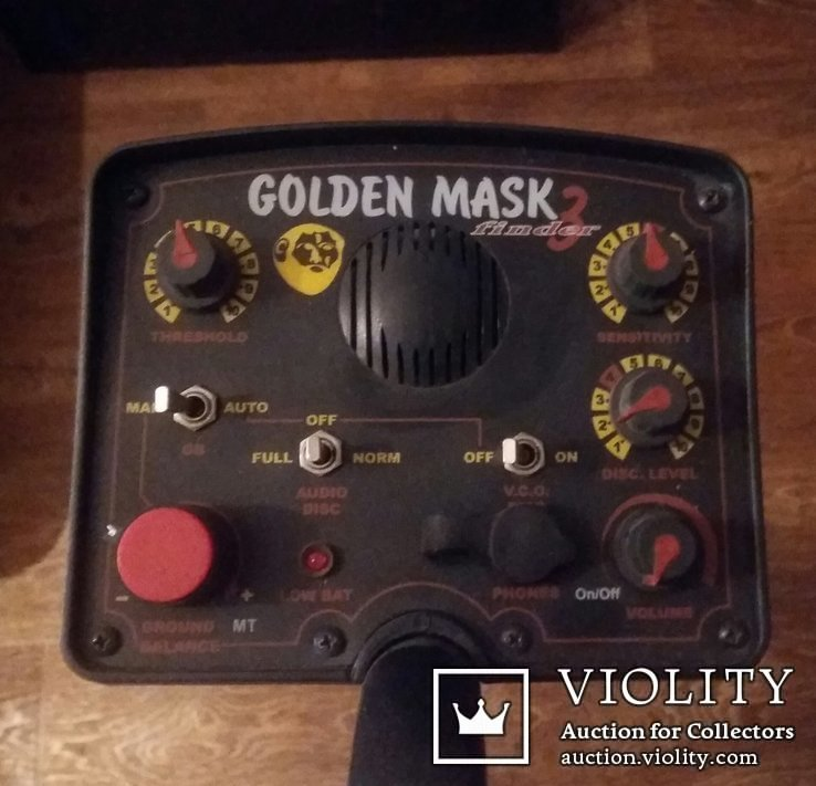 Металлоискатель Golden mask 3, фото №2