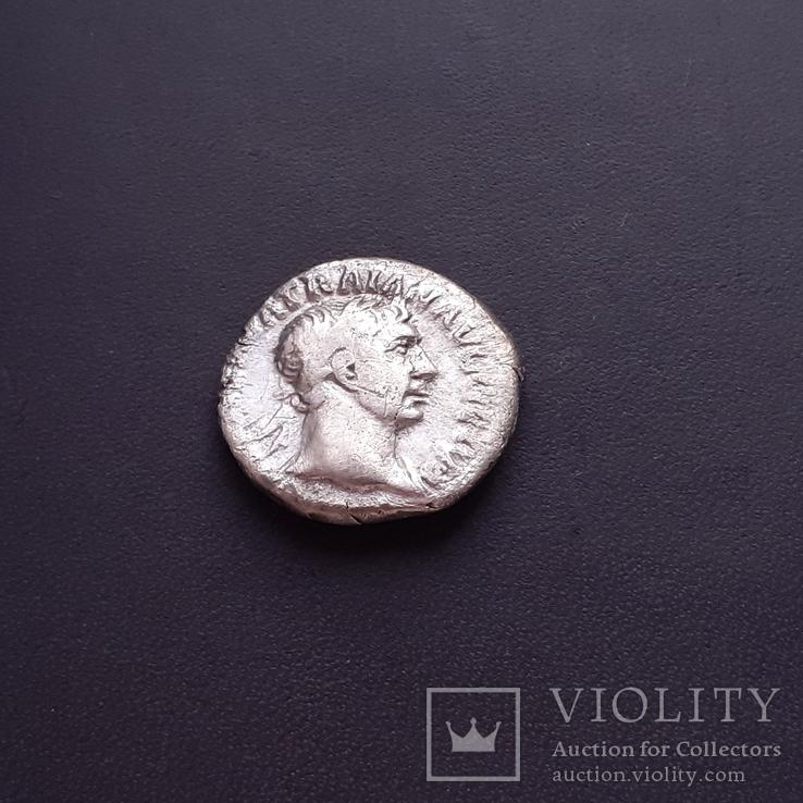 Денарий Траян, фото №2