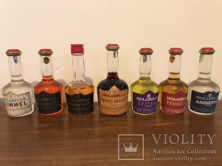 7 бутылочек ликёра, фото №2