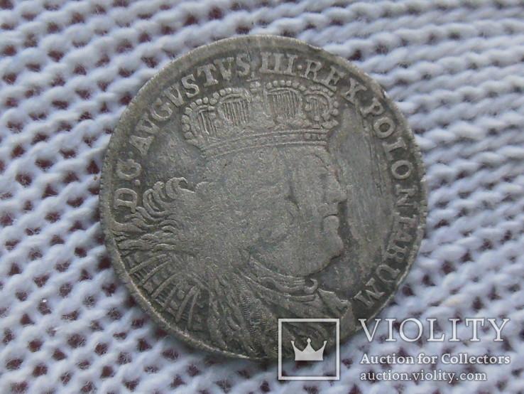Орт 1755 (Август III Толстый), фото №2
