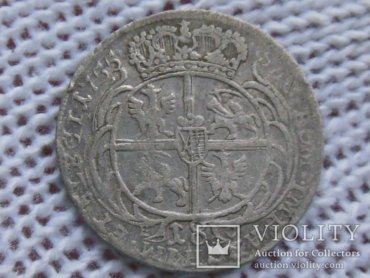 Орт 1755 (Август III Толстый), фото №5