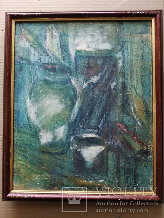 """""""Натюрморт""""  х.м. Лариса Жданова (1937-2017), фото №3"""