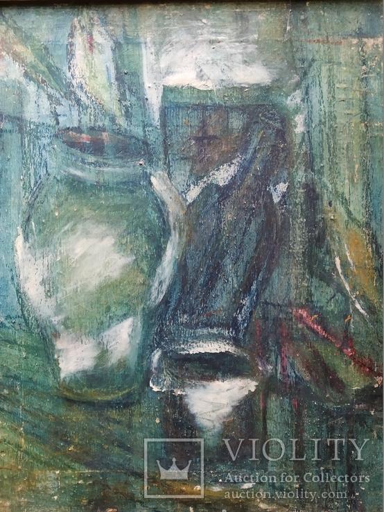 """""""Натюрморт""""  х.м. Лариса Жданова (1937-2017), фото №4"""