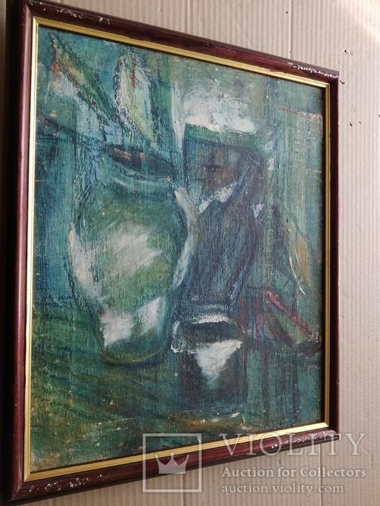"""""""Натюрморт""""  х.м. Лариса Жданова (1937-2017), фото №9"""