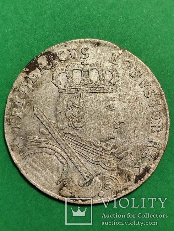 Шестак 1755(Е) RR Кенигсберг Фридрих II Великий, фото №7