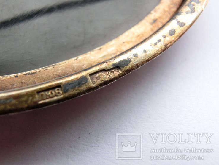 Брошка Серебро 875пр. +, фото №11