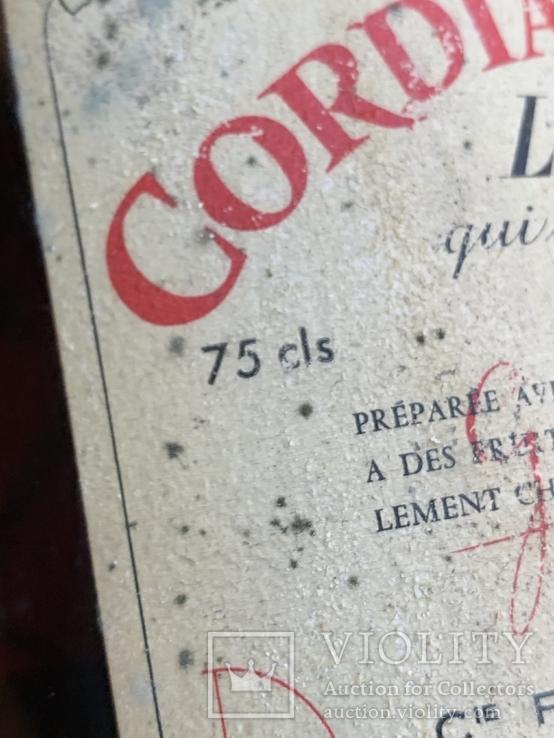 Liquer Cordial Medoc 1960s, фото №5