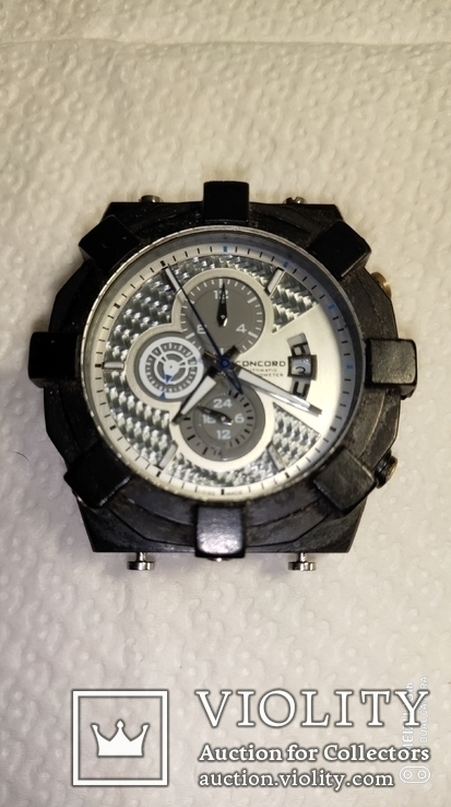 Часы-подделка мех.Concord автомат, фото №2
