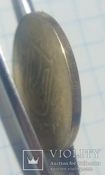 50коп.Здвиг штампа, вне гуртильного кольца., фото №8