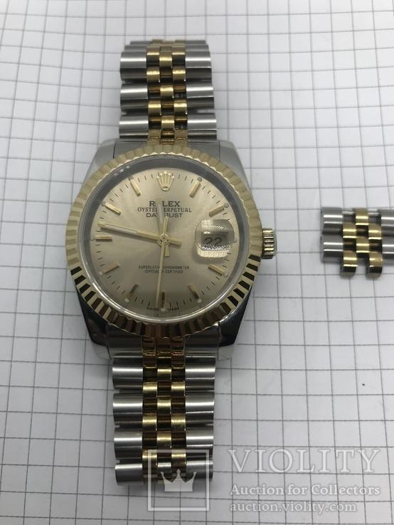 Часы чем-то внешне напоминающие Rolex, фото №2