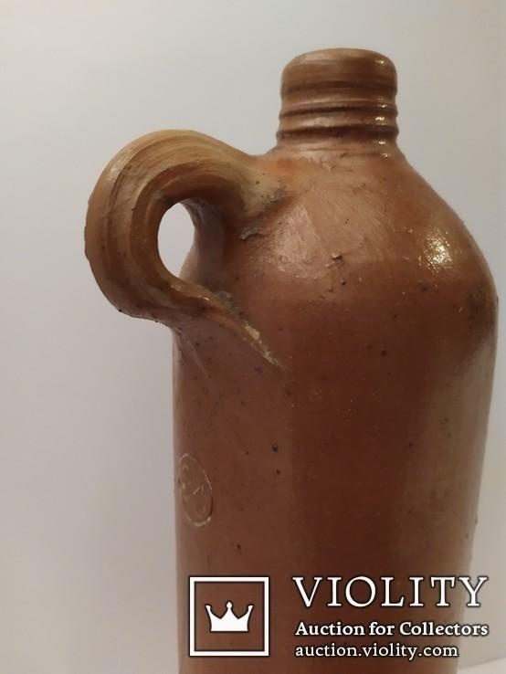 Керамическая бутылка 0.5л Selters Nassau №34, фото №6