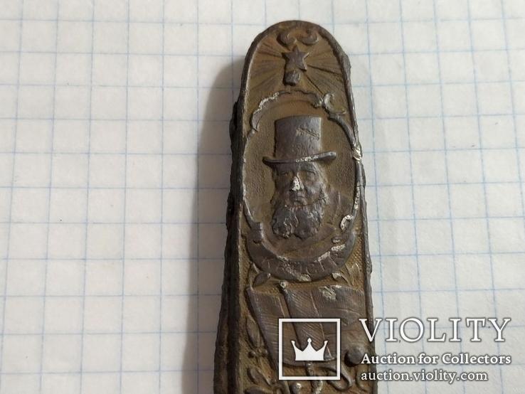 Складной нож (Paul Kruger // Christiaan de Wet ), фото №3