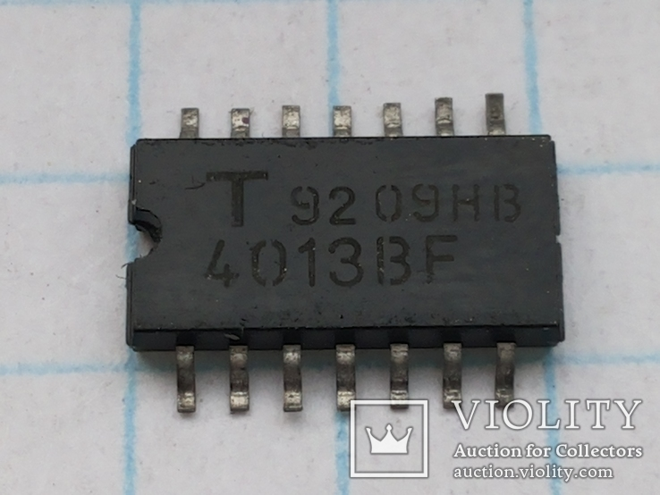 Микросхема 4013BF Toshiba Japan SO-14  22 шт, фото №2