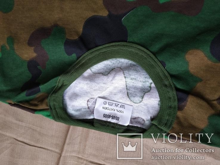 Лот 4 Новая футболка армии Бельгии, пр.р.XL 8595-9505, фото №4