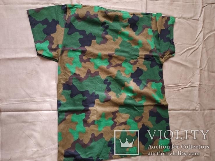 Лот 4 Новая футболка армии Бельгии, пр.р.XL 8595-9505, фото №5
