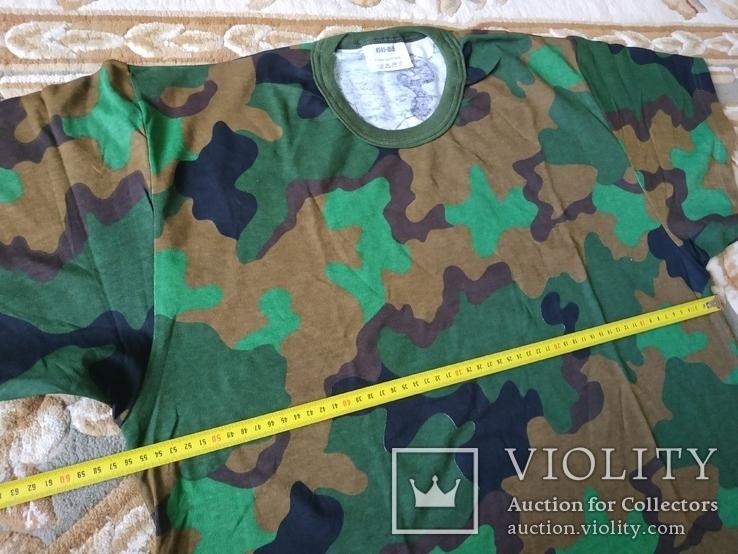 Лот 4 Новая футболка армии Бельгии, пр.р.XL 8595-9505, фото №8