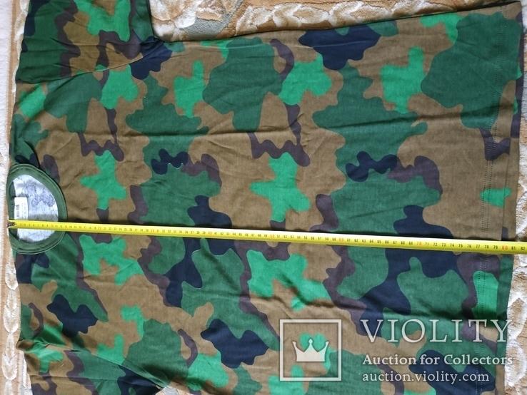 Лот 4 Новая футболка армии Бельгии, пр.р.XL 8595-9505, фото №10