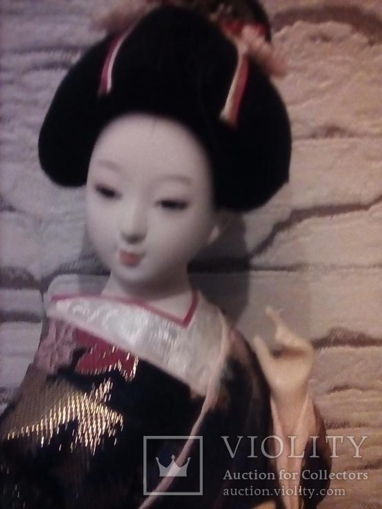 Интерьерная кукла Гейша( Япония), фото №7