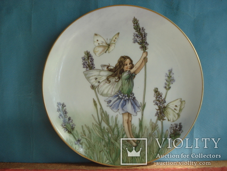 """Коллекционная тарелка """"Феи цветов и полей"""" Сесиль Мэри Баркер., фото №2"""