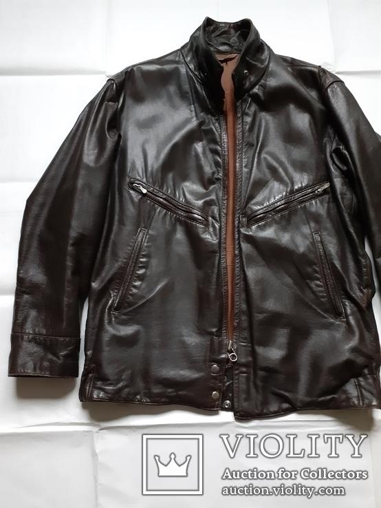 Лётная куртка шевретка ВВС СССР.Комплект.1985г., фото №3