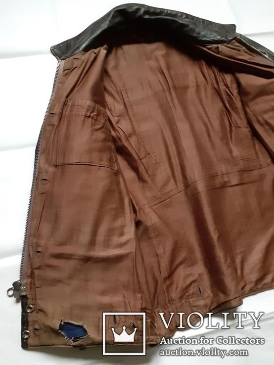 Лётная куртка шевретка ВВС СССР.Комплект.1985г., фото №4