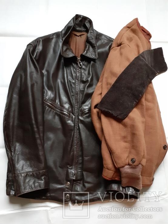 Лётная куртка шевретка ВВС СССР.Комплект.1985г., фото №2