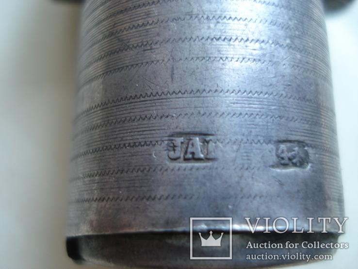 Монетница, серебро 84 проба., фото №9