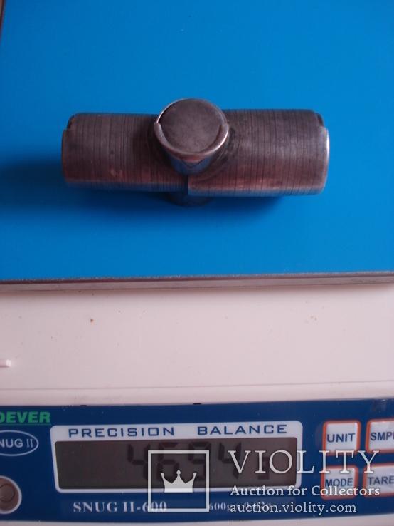 Монетница, серебро 84 проба., фото №10